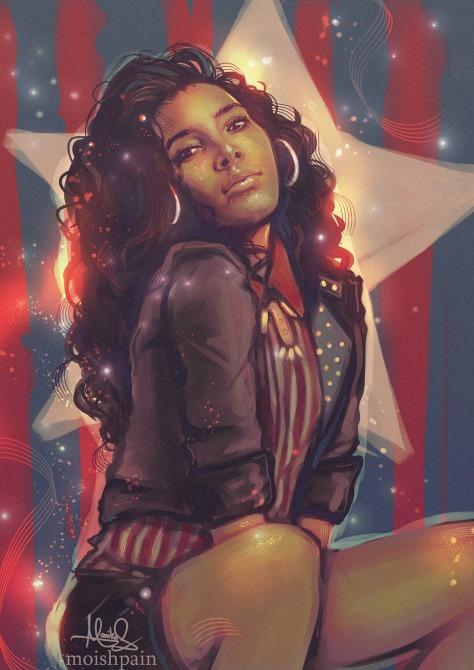 Miss America Chavez Moishpain