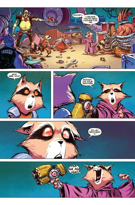 Rocket Raccoon 4 Skottie Young