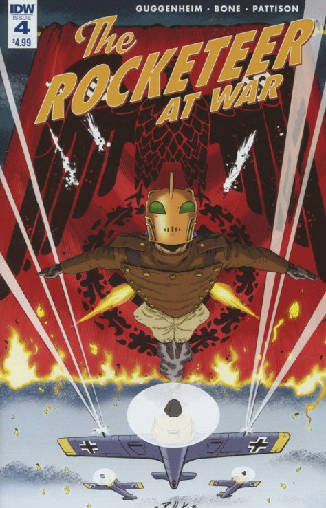 Rocketeer at War 4 Dave Bullock
