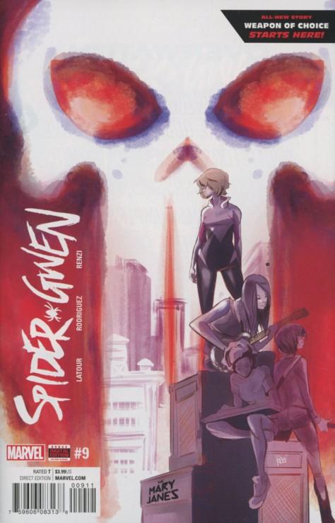 Spider-Gwen 9 Robbi Rodriguez