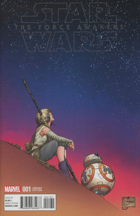 Star Wars Episode VII The Force Awakens Adaptation 1 Joe Quesada