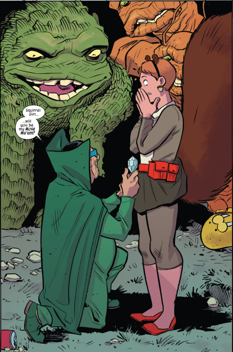 The Unbeatable Squirrel Girl 9 proposal Erica Henderson
