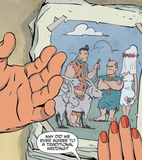 From The Flintstones #1 by Steve Pugh, Chris Chuckry & Dave Sharpe