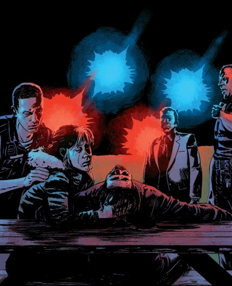 From The Violent #5 by Adam Gorham & Michael Garland