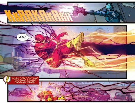 From The Flash #2 by Carmine Di Giandomenica & Ivan Plascencia