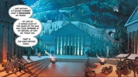 From Wonder Woman #2 by Nicola Scott & Romulo Fajardo Jr
