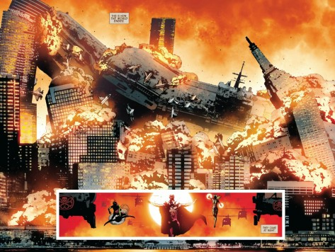From Old Man Logan #8 by Andrea Sorrentino & Marcelo Maiolo
