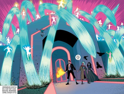 From The Wicked + The Divine #21 by Jamie McKelvie & Matt Wilson