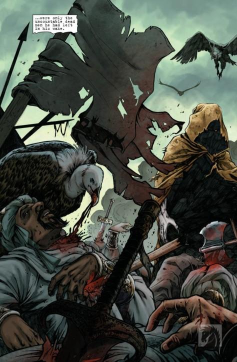 From Conan The Slayer #1 by Sergio Davilla & Michael Atiyeh