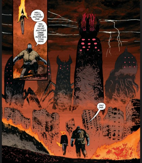 From BPRD Hell on Earth # by Laurence Campbell