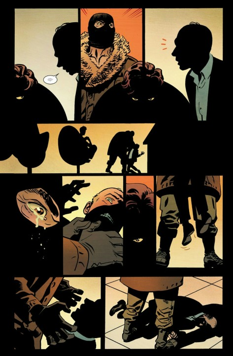 From Black Widow #4 by Chris Samnee & Matt Wilson