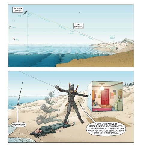 From Jupiters Legacy Volume 2 #3 by Frank Quitely