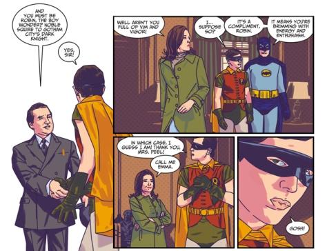 Batman '66 Meets Steed and Peel 1 Matthew Dow Smith