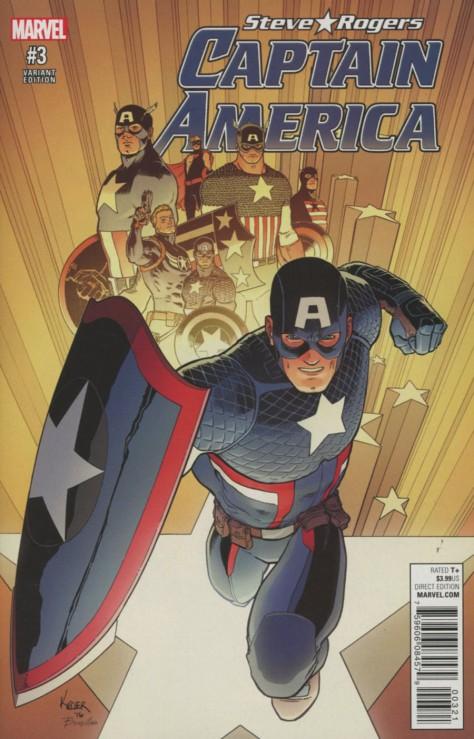 Captain America Steve Rogers 3 Aaron Kuder