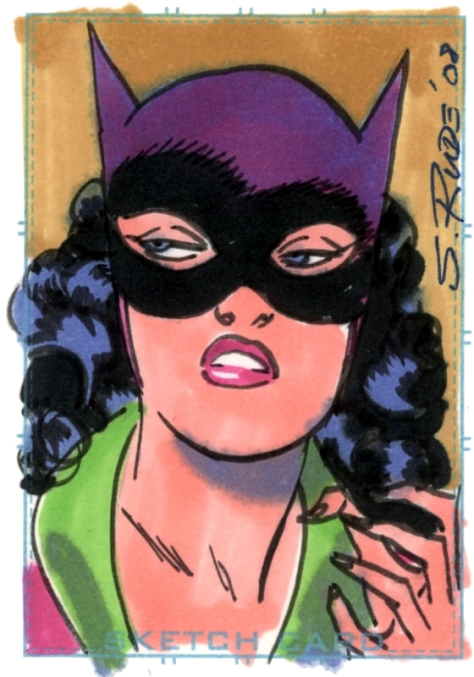 Catwoman Steve Rude