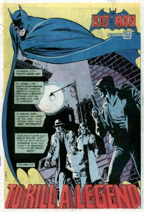 Detective Comics 500 splash Dick Giordano