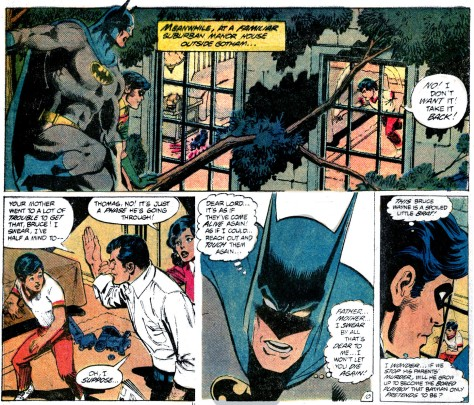 Detective Comics 500 spoiled Bruce