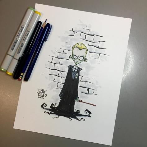 Draco Malfoy Skottie Young