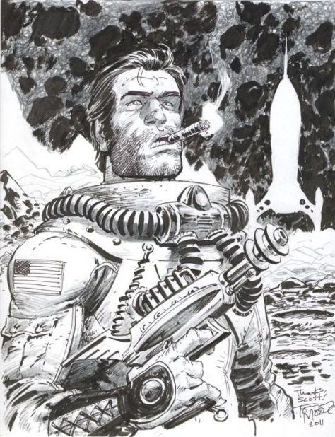 Fear Agent Tony Moore