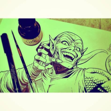 Green Goblin Jim Cheung