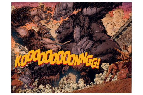 From Kong of Skull Island #1 by Carlos Magno & Brad Simpson