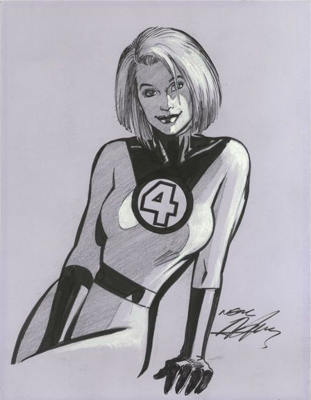 Invisible Woman Neal Adams