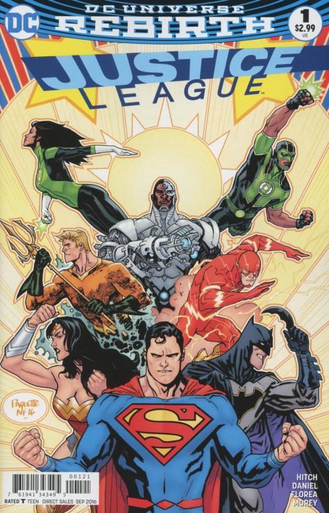 Justice League 1 Yanick Paquette