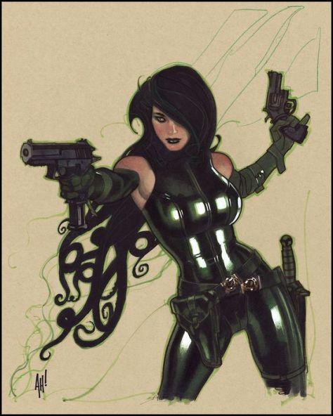 Madame Hydra Adam Hughes