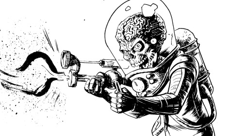 Mars Attacks! Adam Gorham