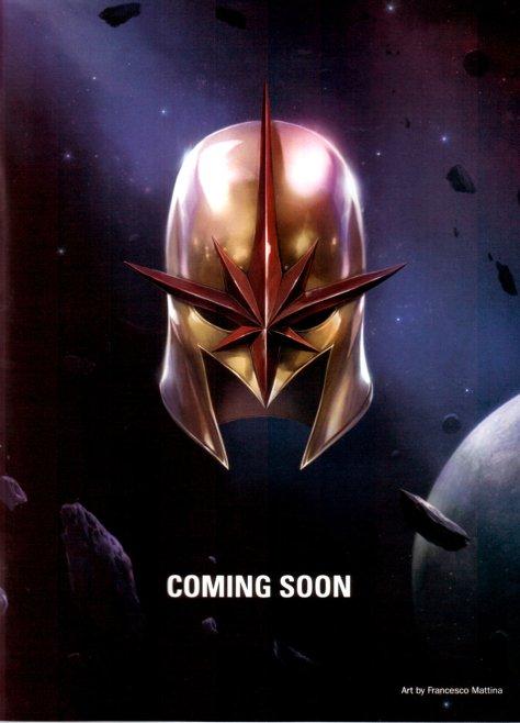 Nova Marvel NOW! teaser