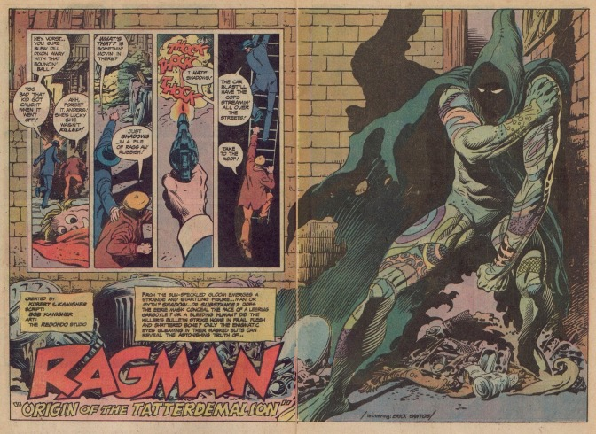 Ragman, Bronze Age Scourge of the Ghetto Lords