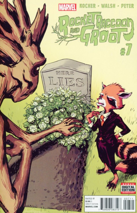 Rocket Raccoon & Groot 7 David Lopez
