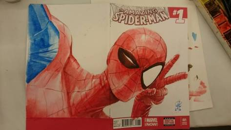 Spider-Man Marco Rudy