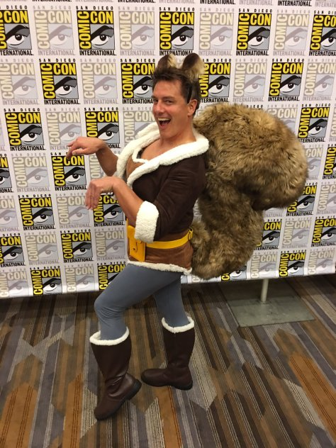 Squirrel Girl John Barrowman