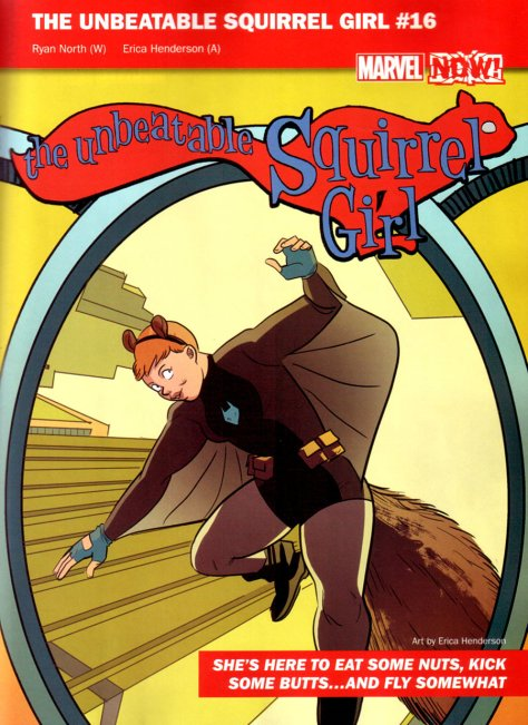 The Unbeatable Squirrel Girl 16 Erica Henderson