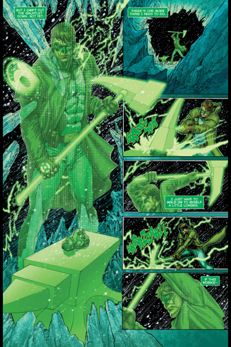 From Hal Jordon and the Green Lantern Corps by Ethan Van Sciver &  Jason Wright