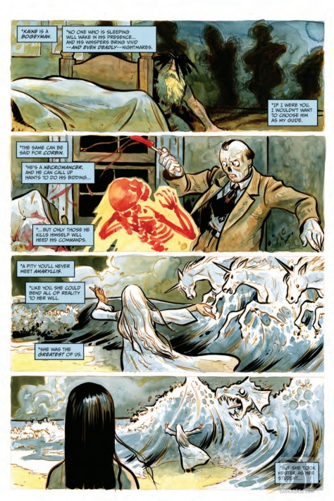 From Harrow County #15 by Tyler Crook