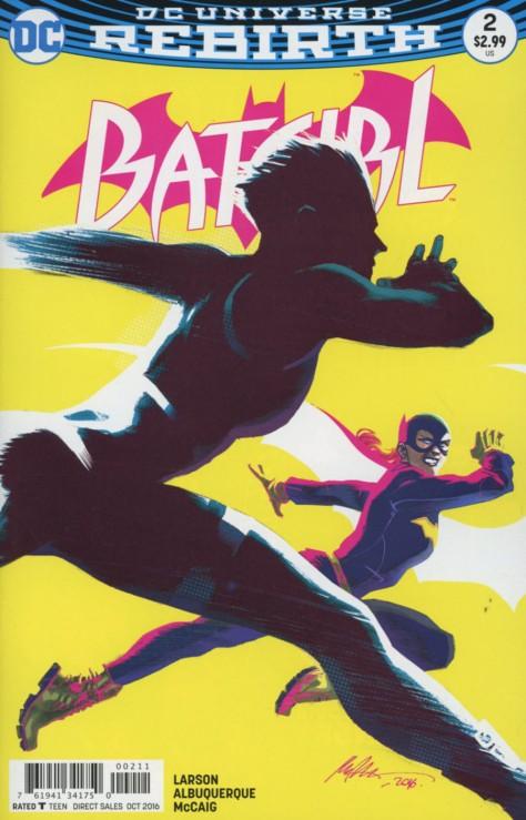 Batgirl 2 Rafael Albuquerque