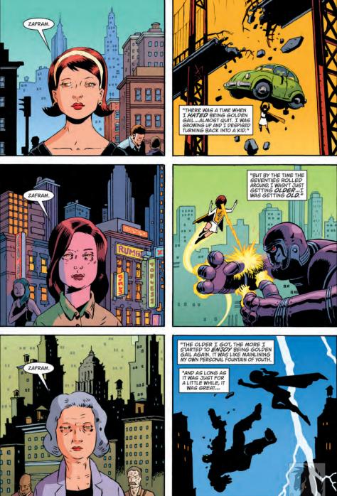 from Black Hammer #2 by Dean Ormston & Dave Stewart