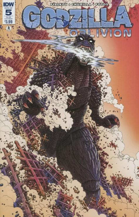 Godzilla Oblivion 5 James Stokoe