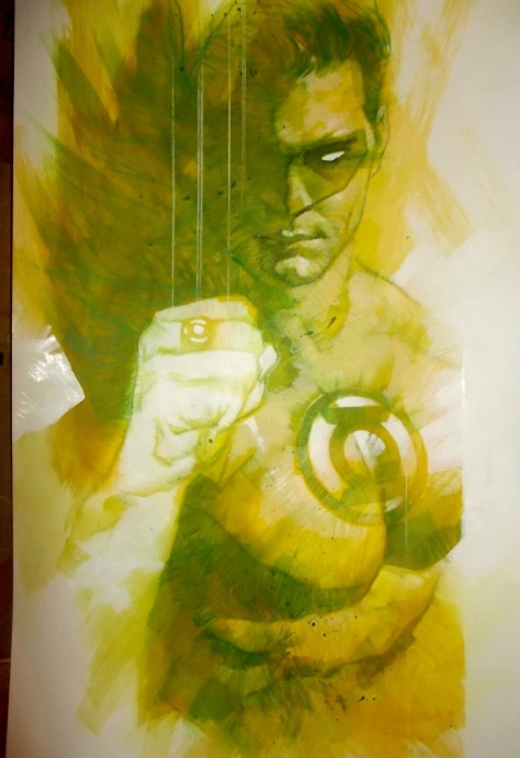 Green Lantern Ben Oliver