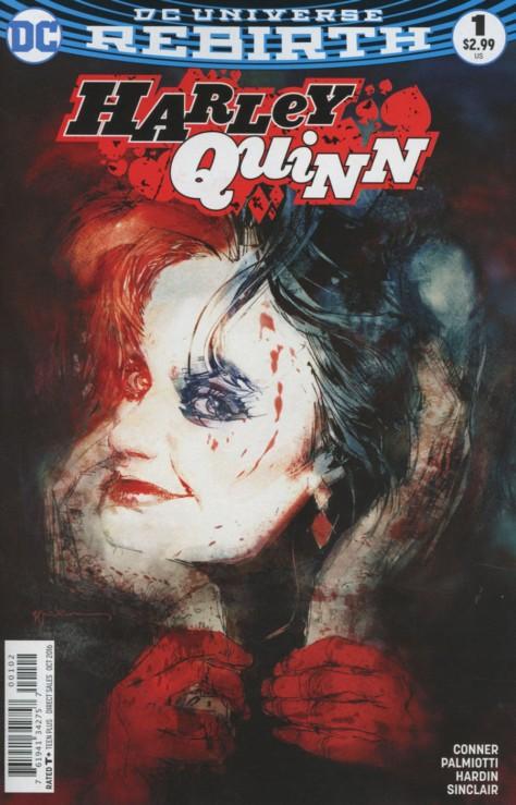 Harley Quinn 1 Bill Sienkiewicz