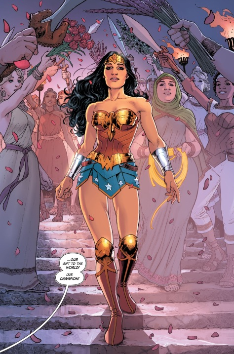 From Wonder Woman #4 by Nicola Scott & Ramulo Farjado Jr