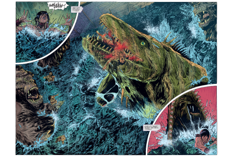 From Kong of Skull Island #2 by Carlos Magno & Brad Simpson