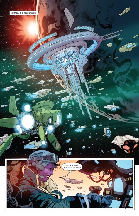 From Empress #5 by Stuart Immonen, Wade Vongrawbadger & Ive Svorcina