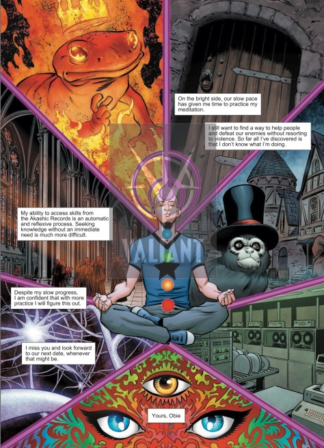 From A&A: The Adventures of Archer & Armstrong #6 by Mike Norton & Allen Passalaouv