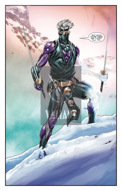 From Ninjak #18 by Khai Evans & Ulises Arreola & Chris Sotomayor
