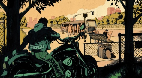 From Sons of Anarchy Redwood Original #1 by Luca Pizzari & Adam Metcalfe