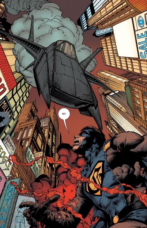 From Batman #5 by David Finch, Sandra Hope,Matt Banning, Scott Hana & Jordie Bellaire