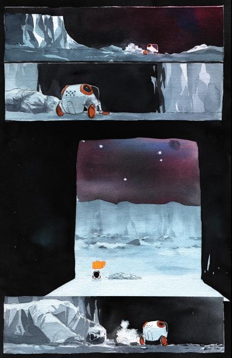 From Descender #14 by Dustin Nguyen